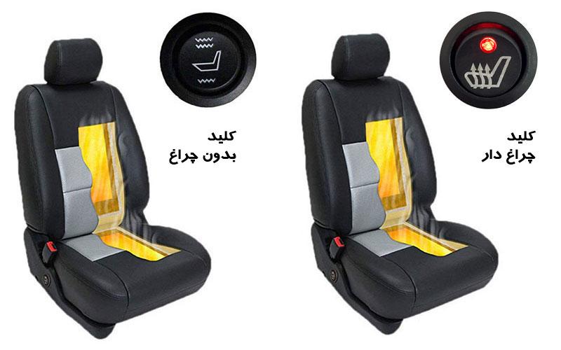 پد گرمکن صندلی برای خودروها