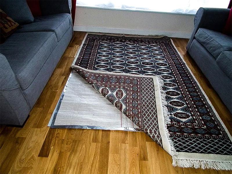 پد گرمایش از کف گرمکن زیر فرش